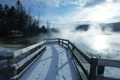Yellowstonescène Royalty-vrije Stock Afbeelding