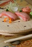 Yellowtail nigiri Royalty Free Stock Photo