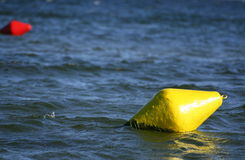 Yelloy buoy Stock Images