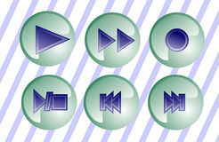 Yelly buttons stock photo