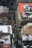 Yeloow Rollen in New York stockfotografie
