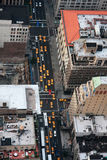 Yeloow taxies in new york Stock Photography