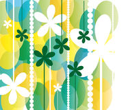 Весна цветет предпосылка иллюстрация штока