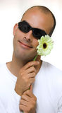 yelow человека цветка Стоковые Фото