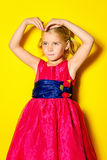 Yelow fashion Stock Photography