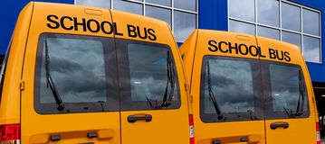 Yelow-Schulbus Lizenzfreie Stockbilder