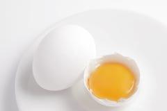Yema de huevo Imagenes de archivo