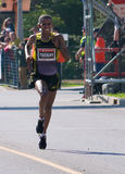 Yemane Tsegay wins the Ottawa Marathon Stock Photography