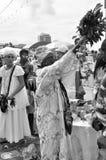 Yemanjá parti Royaltyfri Foto