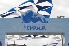 Yemanjá Party. In Salvador, Bahia, Iemanjá Party Symbol Stock Photos