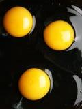 Yemas de huevo Imagenes de archivo