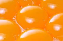 Yemas de huevo Fotos de archivo libres de regalías