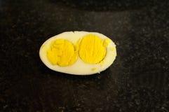 Yemas de huevo gemelas Fotografía de archivo