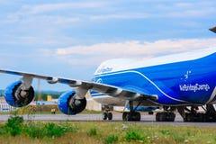 Yemelyanovo Airport. Krasnoyarsk. Russia -15.08.2018. official spotting in autumn royalty free stock image