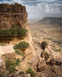 Yemen. Landscape near Sanaa, Northern Yemen Royalty Free Stock Images