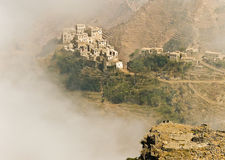 Yemen. Landscape near Sanaa, Northern Yemen Royalty Free Stock Photos