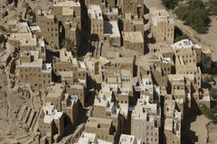 Yemen Architecture. Specific Yemen Architecture and buildings Royalty Free Stock Image