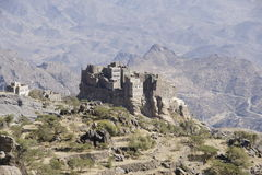 Yemen Architecture. Specific Yemen Architecture and buildings Royalty Free Stock Photo