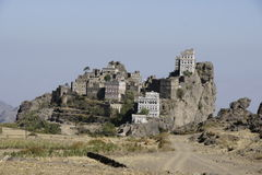 Yemen Architecture. Specific Yemen Architecture and buildings Royalty Free Stock Photography