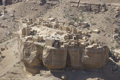 Yemen arkitektur Royaltyfria Foton