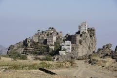 Yemen arkitektur Royaltyfri Fotografi