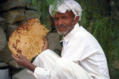 Yemen bread Royalty Free Stock Photography