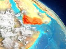 Yemen de la órbita ilustración del vector
