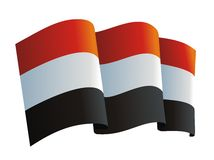 Yemen flag Stock Images