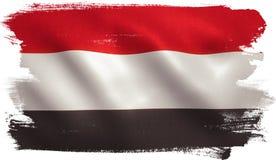 Yemen Flag Royalty Free Stock Photos