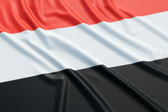Yemen flag Stock Photos