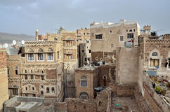 Yemen, historical center of Sana'a Royalty Free Stock Photos