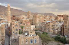 Yemen, historical center of Sana'a Stock Image
