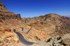 Yemen landscape Stock Image