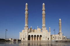 yemen Saleh moské i Sanaa royaltyfri foto