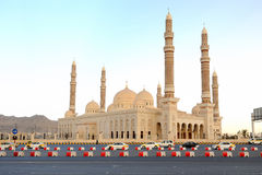 Yemen. Sanaa. Saleh mosque Stock Photos
