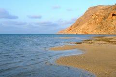 Yemen. Socotra island. Detwah Lagoon Stock Photos