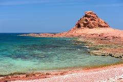 Yemen. Socotra island. Dihamri Royalty Free Stock Photography