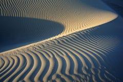 Yemen. Socotra island. Sand dunes of Detwah Lagoon.  royalty free stock images