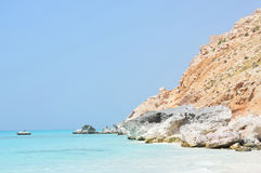 Yemen, Socotra, Shuab bay royalty free stock photography