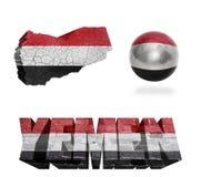 Yemen Symbols Royalty Free Stock Image