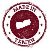 Yemen vector seal. Royalty Free Stock Images