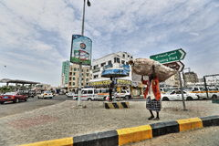 Yemeni on Aden Street Royalty Free Stock Images