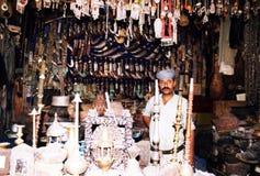 Yemeni antique trade Royalty Free Stock Photography