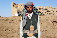 Yemeni boy Stock Photography