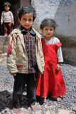Yemeni children Royalty Free Stock Images