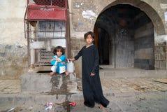 Yemeni little girls Royalty Free Stock Photography