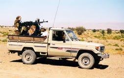 Yemeni soldiers Stock Photos