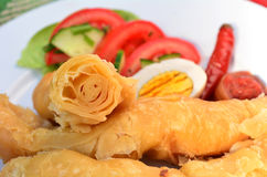 Yemeni Voedsel - Jachnun royalty-vrije stock fotografie