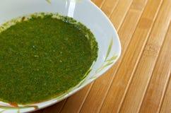 Yemenite sauce zhug Royalty Free Stock Photography