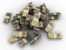 Yen. A 3d illustration of million yen Stock Photography